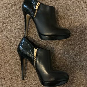 Michael Kors York Platform Ankle Boots